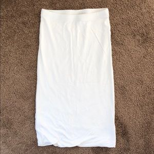 Topshop jersey pull on skirt